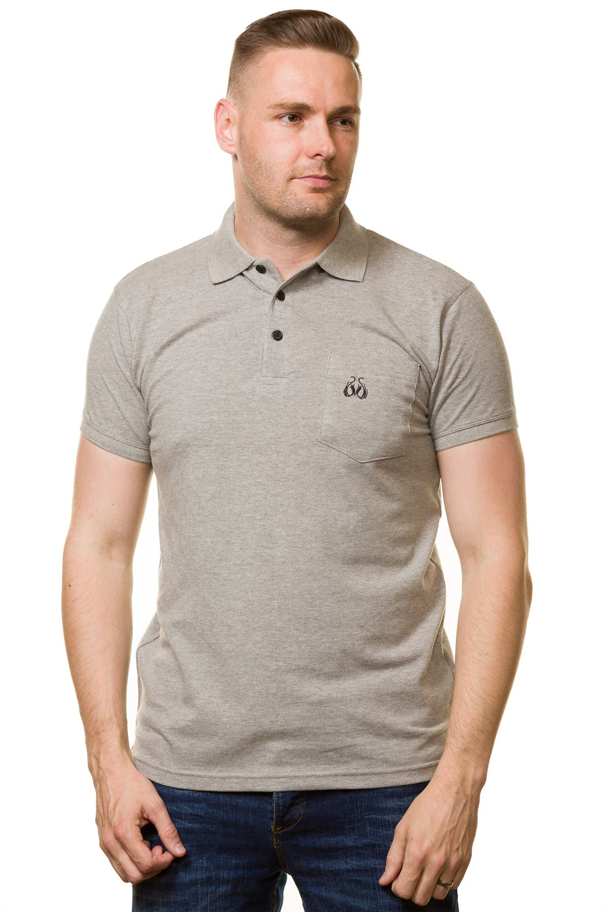Men's T-shirts Cotton Regular fit Branded Plain Polo ...