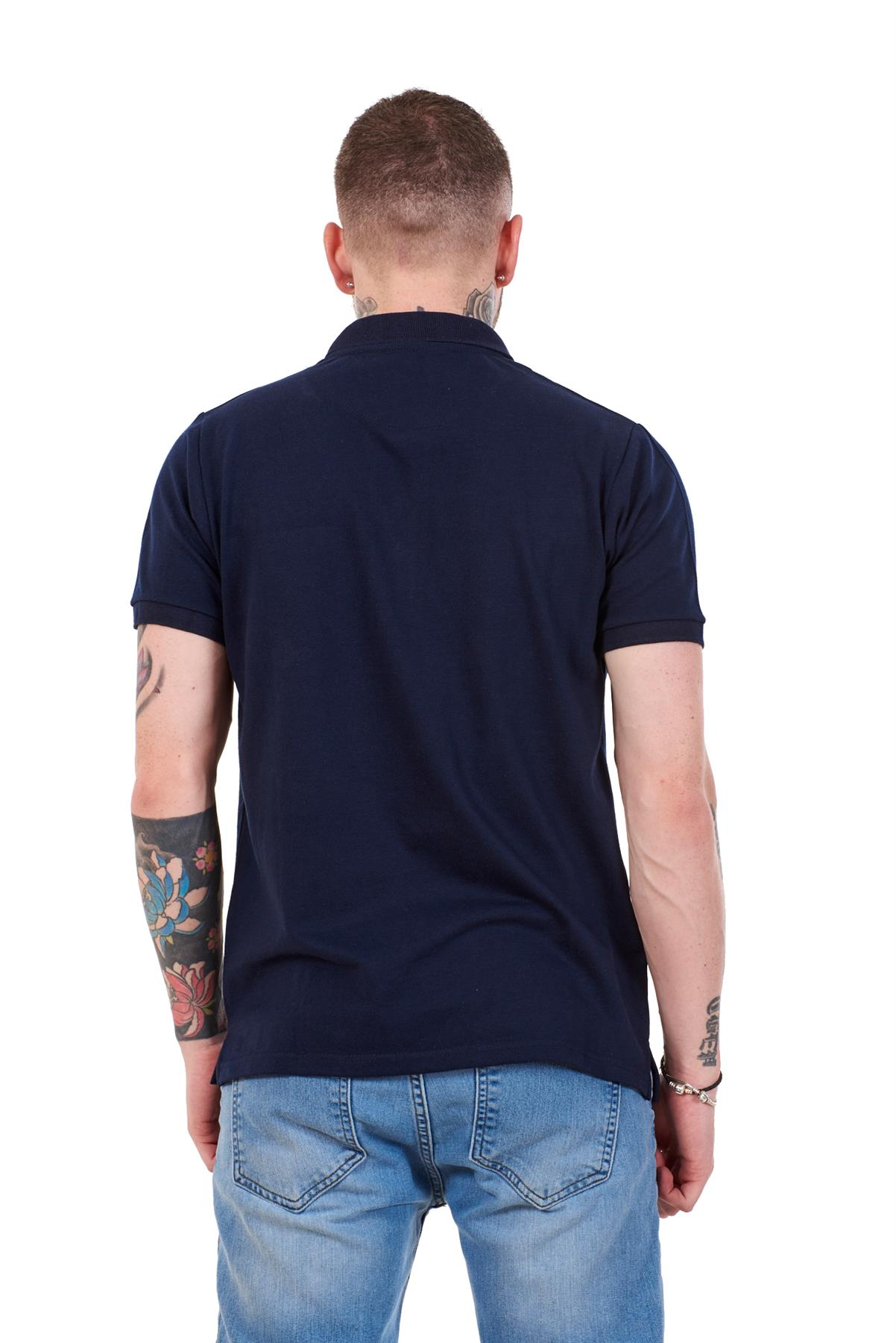 Mens-Cotton-T-Shirts-Regular-fit-Plain-Polo-Pocket-Casual-Formal-Shirt-Top-M-XXL thumbnail 22