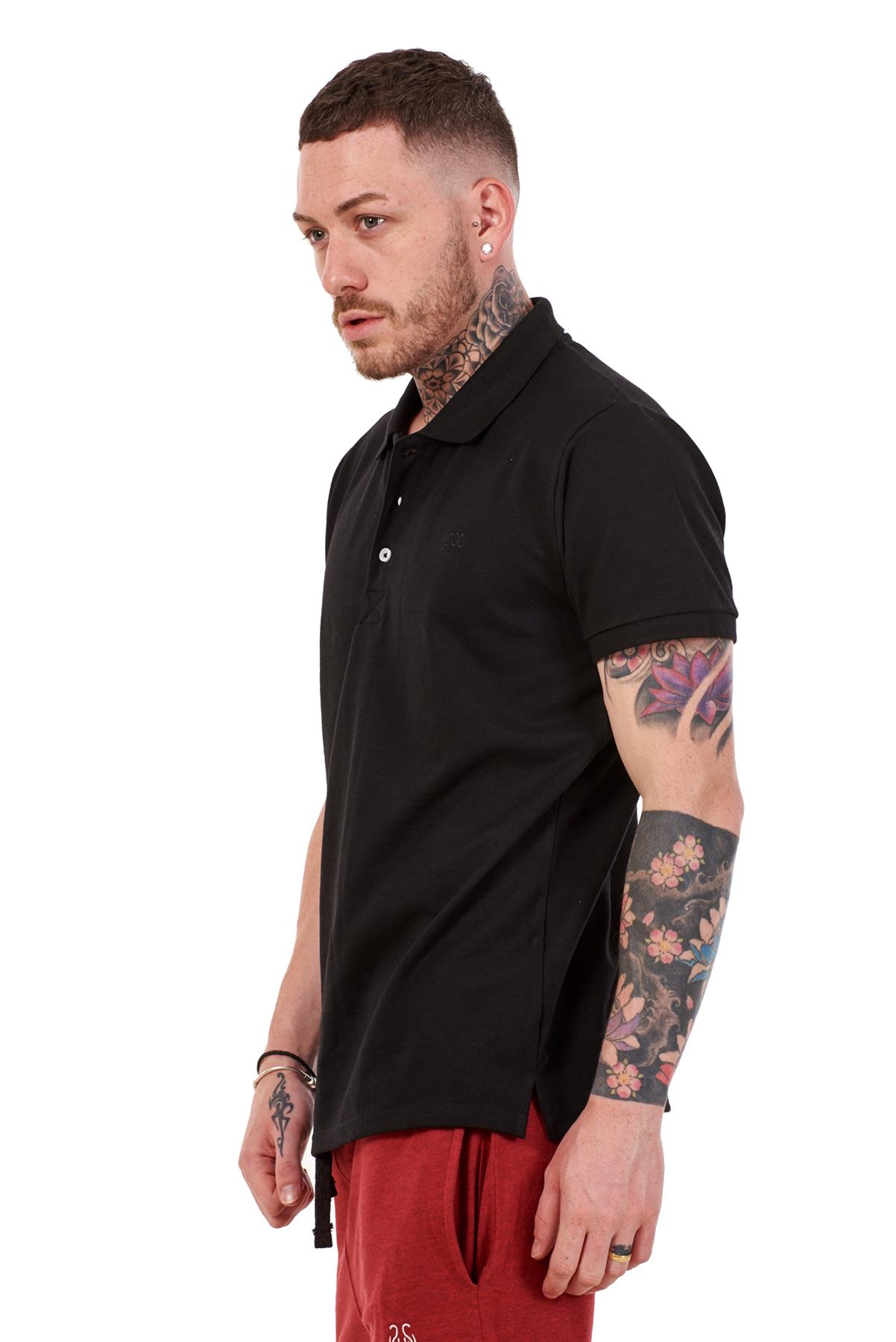 Mens-Plain-Solid-Polo-Cotton-T-Shirts-Regular-fit-Casual-Formal-Shirt-Top-M-XXL thumbnail 4