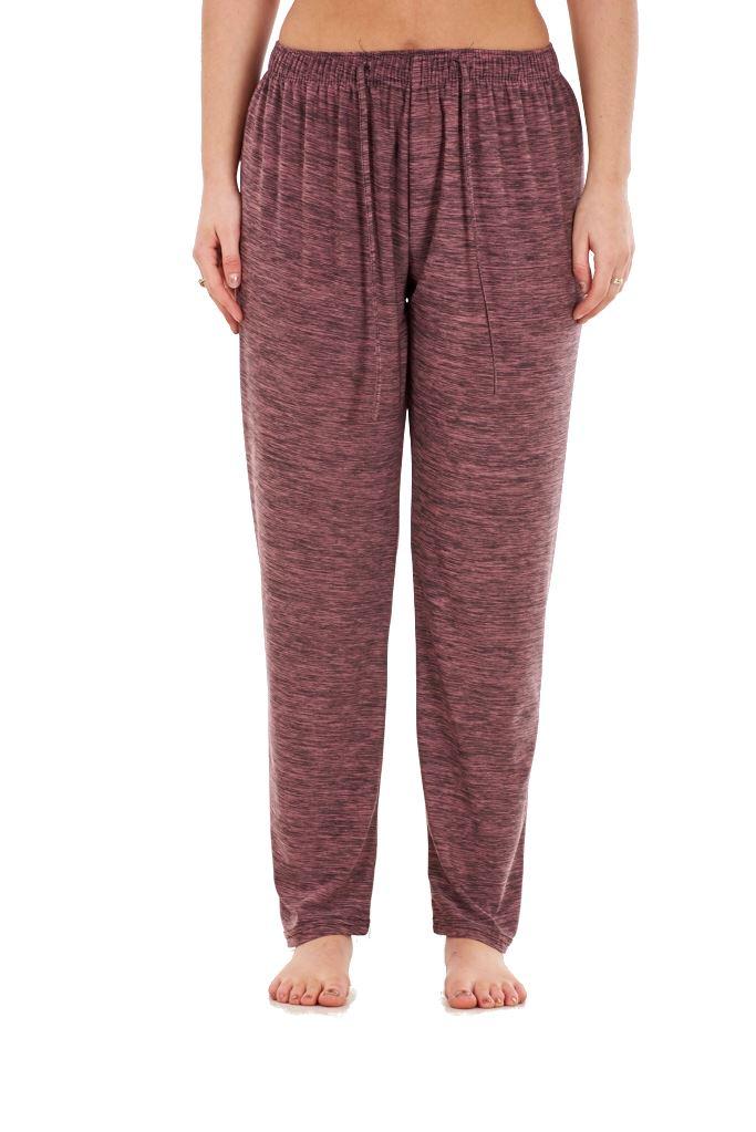 Ladies-Women-Trouser-Elasticated-Tapered-High-waist-ITY-Regular-Pants-Black thumbnail 23