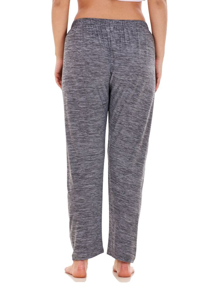Ladies-Women-Trouser-Elasticated-Tapered-High-waist-ITY-Regular-Pants-Black thumbnail 13