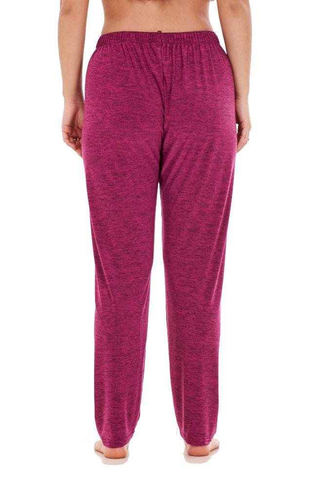 Ladies-Women-Trouser-Elasticated-Tapered-High-waist-ITY-Regular-Pants-Black thumbnail 29