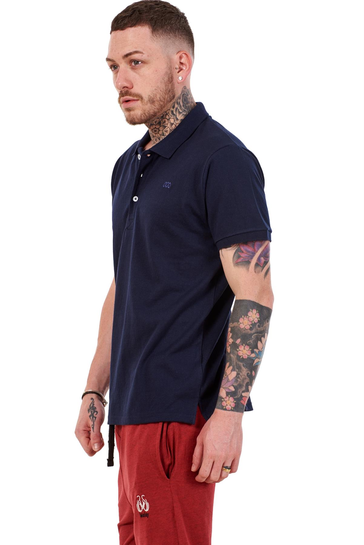 Mens-Plain-Solid-Polo-Cotton-T-Shirts-Regular-fit-Casual-Formal-Shirt-Top-M-XXL thumbnail 24