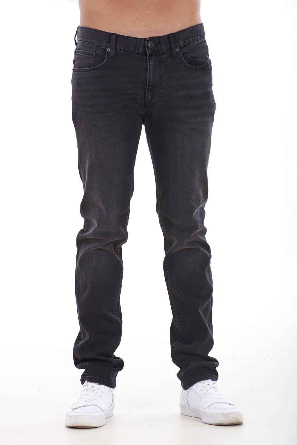 NUOVA-Linea-Uomo-Ragazzi-Slim-Fit-Stretch-Qualita-Jeans-Regolare-Pantaloni-con-marchio-SMART-30-40 miniatura 3