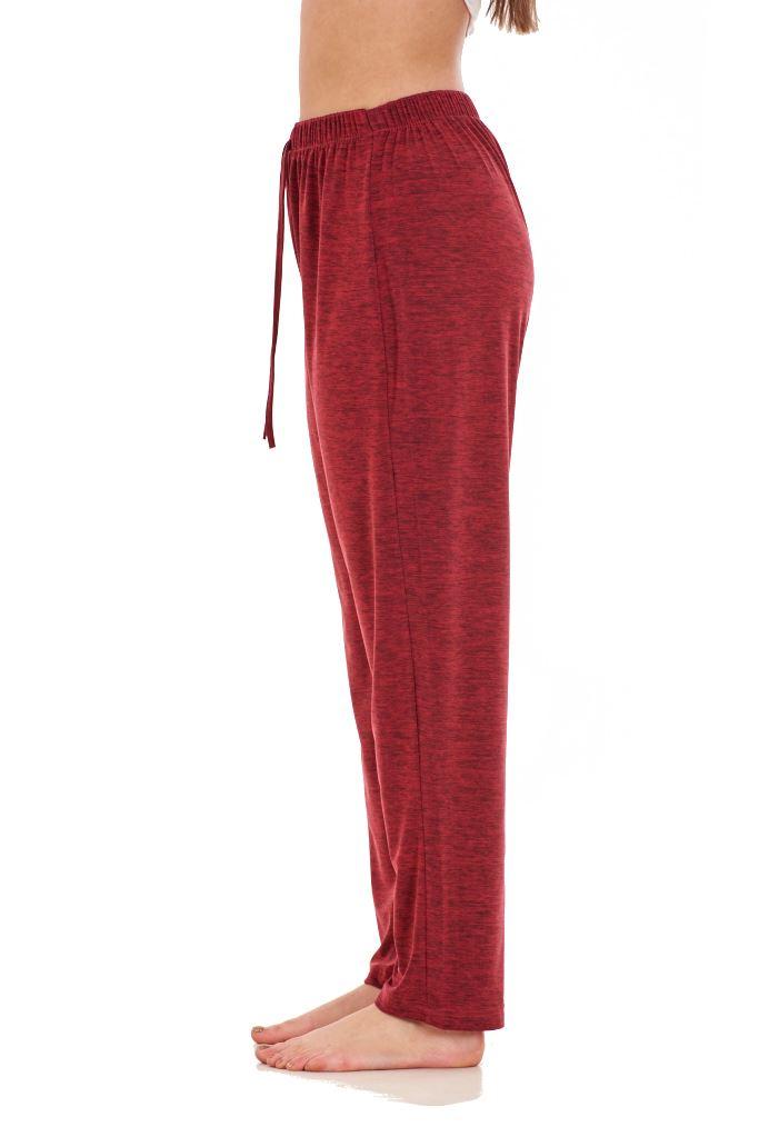 Ladies-Women-Trouser-Elasticated-Tapered-High-waist-ITY-Regular-Pants-Black thumbnail 40