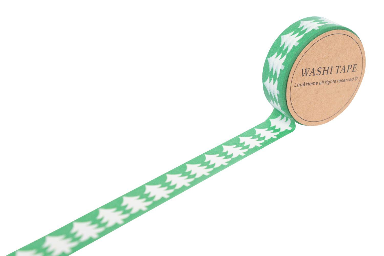 weihnachten maskierung washi dekoration papier tape 10m. Black Bedroom Furniture Sets. Home Design Ideas
