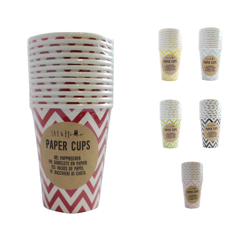 Paper Cups Party (9oz) Chevron - Tableware Wedding Birthday ...