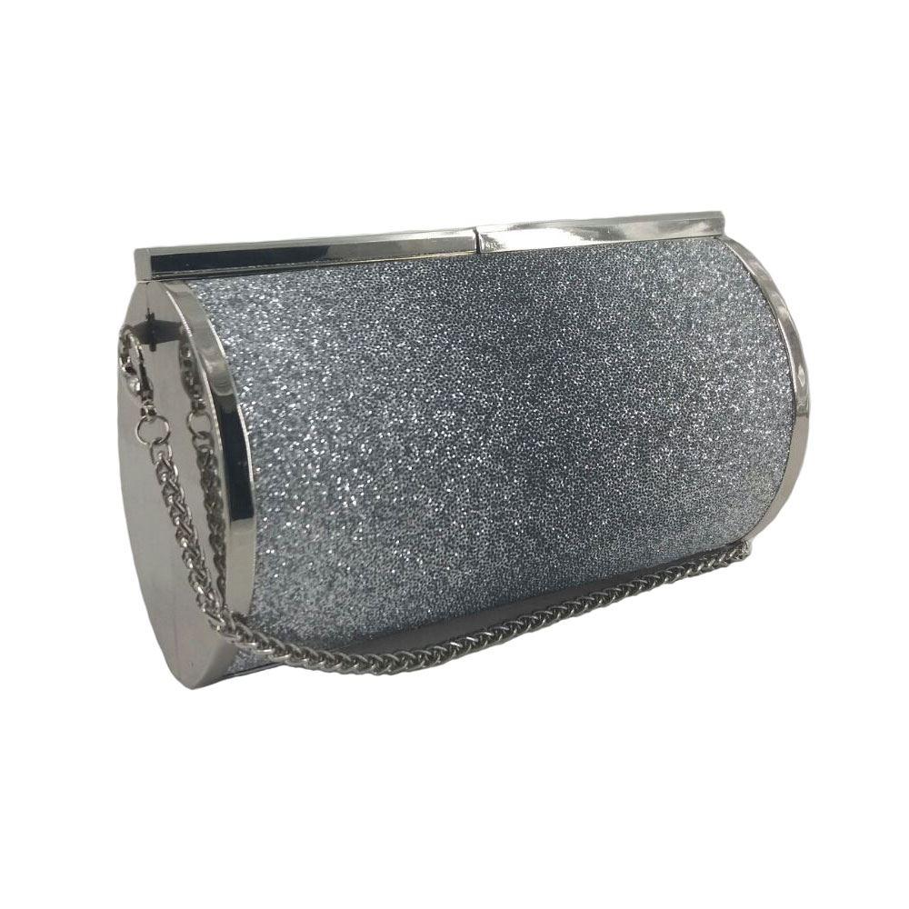New-Womens-Glitter-Hard-Case-Clutch-Bag-Girls-Glitter-Bag-Women-039-s-Evening-Bag thumbnail 14