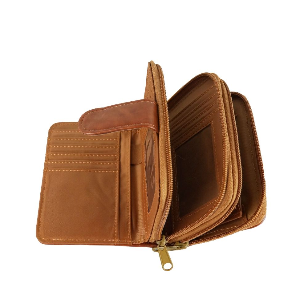 New-Women-039-s-Real-Leather-Purse-Designer-Style-Girls-Wallet-Coin-Holder thumbnail 5