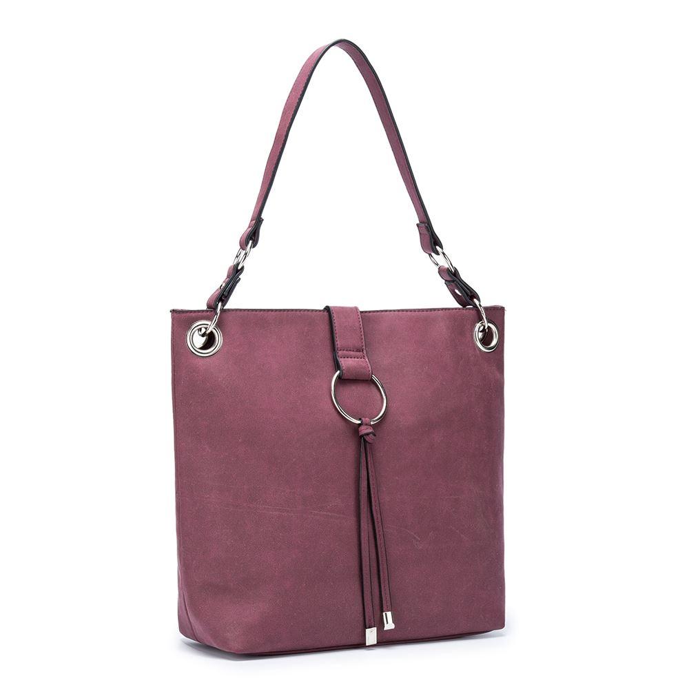 Women-039-s-Tote-Tassel-Ring-Handbag-Shoulder-Simple-Everyday-Bag thumbnail 12