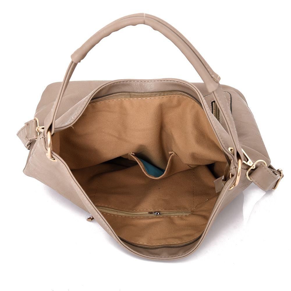 Womens-Large-Designer-Style-Tote-Bag-New-Shoulder-Handbag-Cross-Body-Shopper-Bag miniatuur 4