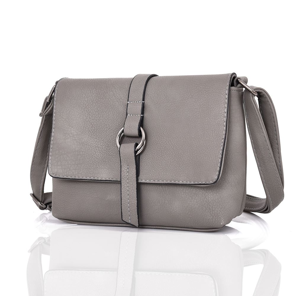 Womens Designer Style Cross Body Bag Ladies Handbag PU Leather ... ee3ae06e8b9fe