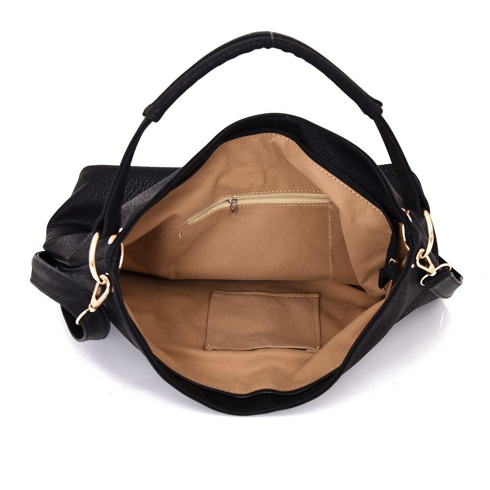 Womens-Large-Designer-Style-Tote-Bag-New-Shoulder-Handbag-Cross-Body-Shopper-Bag miniatuur 7