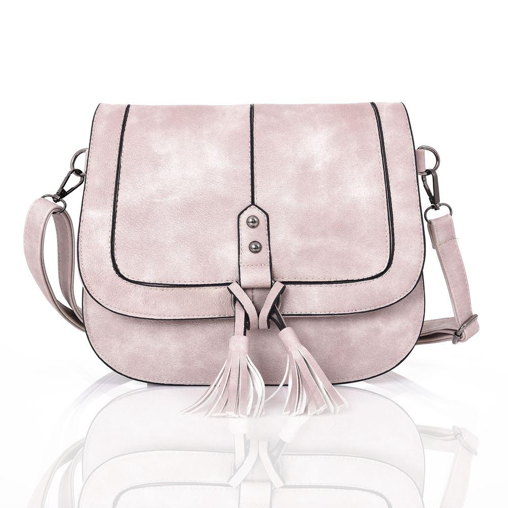 Womens-Designer-Style-Cross-Body-Bag-Ladies-Handbag-PU-Leather-Shoulder-Bag thumbnail 3