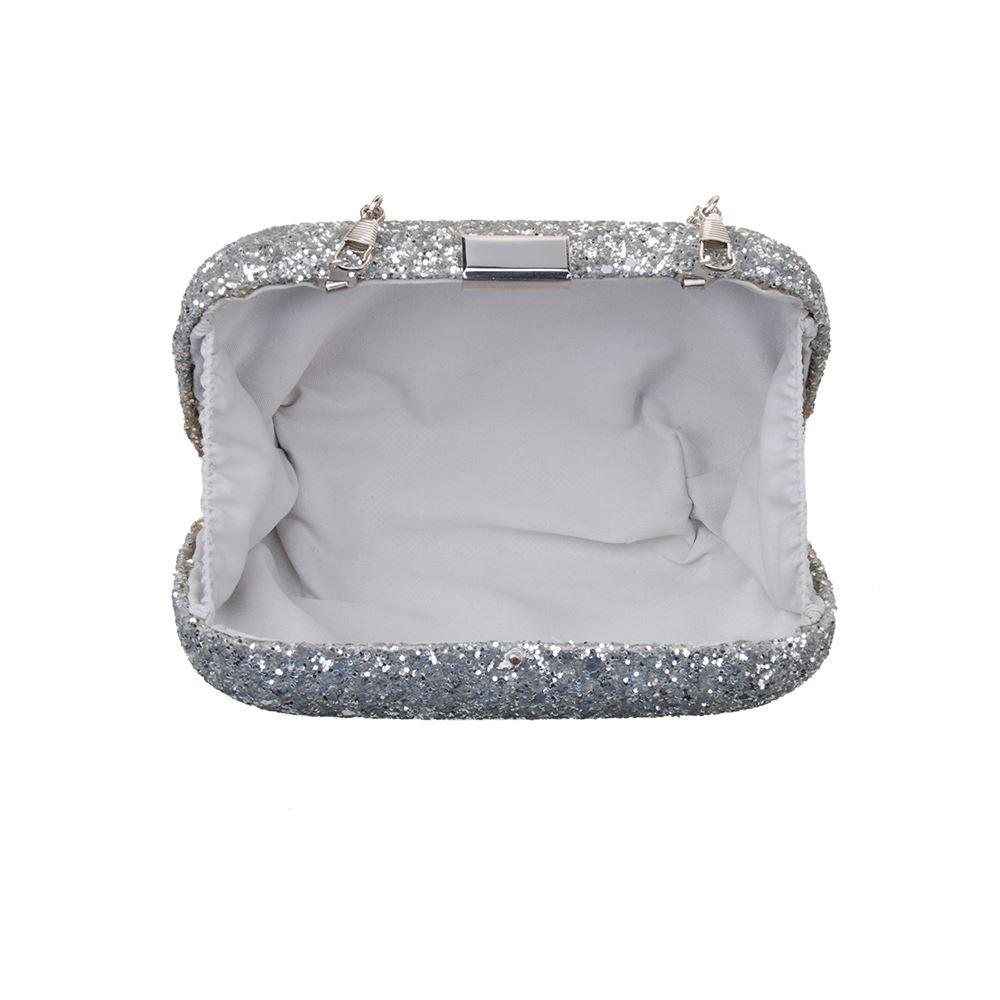 New-Womens-Glitter-Hard-Case-Clutch-Bag-Girls-Glitter-Bag-Women-039-s-Evening-Bag thumbnail 7