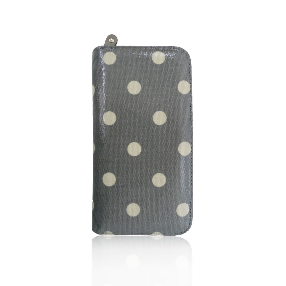 New-Womens-Long-Purse-Girls-Polka-Dot-Print-Wallet-Ladies-Oilcloth-Coin-Purse thumbnail 8