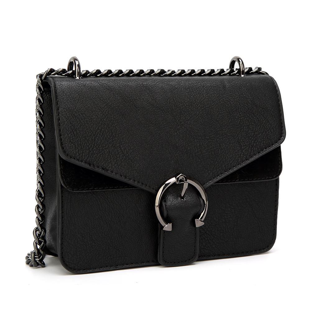 Women/'s Designer Style Cross Body Bag Girls Buckle Close Shoulder Style Bag