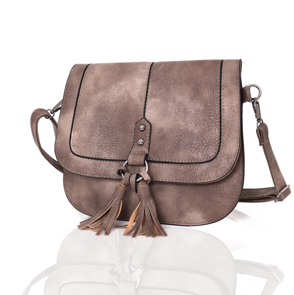 Womens-Designer-Style-Cross-Body-Bag-Ladies-Handbag-PU-Leather-Shoulder-Bag thumbnail 12