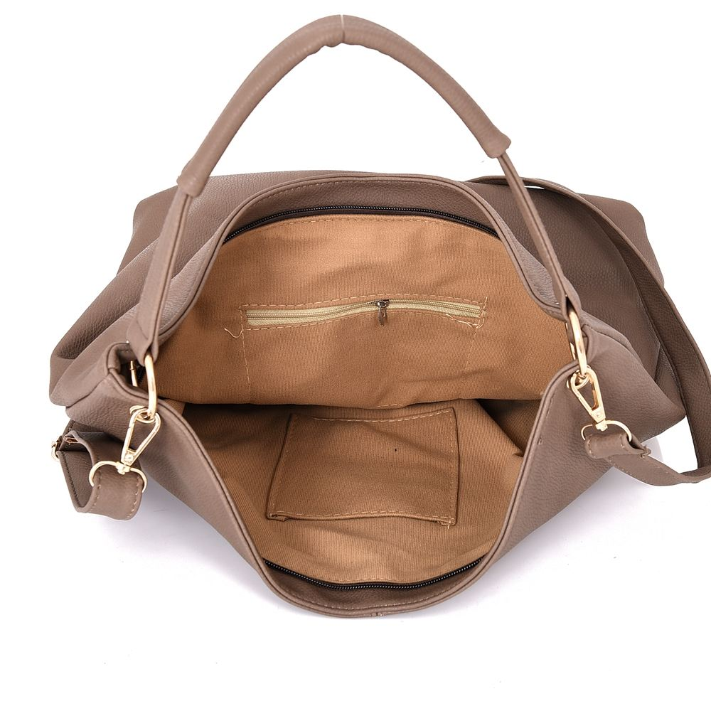 Womens-Large-Designer-Style-Tote-Bag-New-Shoulder-Handbag-Cross-Body-Shopper-Bag miniatuur 11