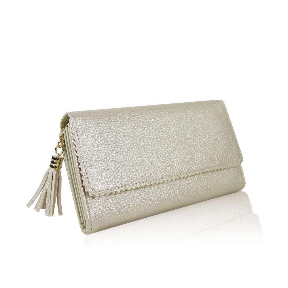 Ladies Women Designer Oilcloth glitter Large Purse Wallet Girls Coin Purse