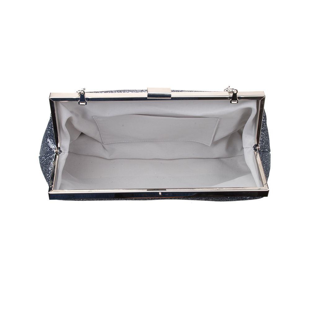 New-Womens-Glitter-Clutch-Bag-Women-039-s-Glitter-Finish-Evening-Bag-Girl-039-s-Clutch