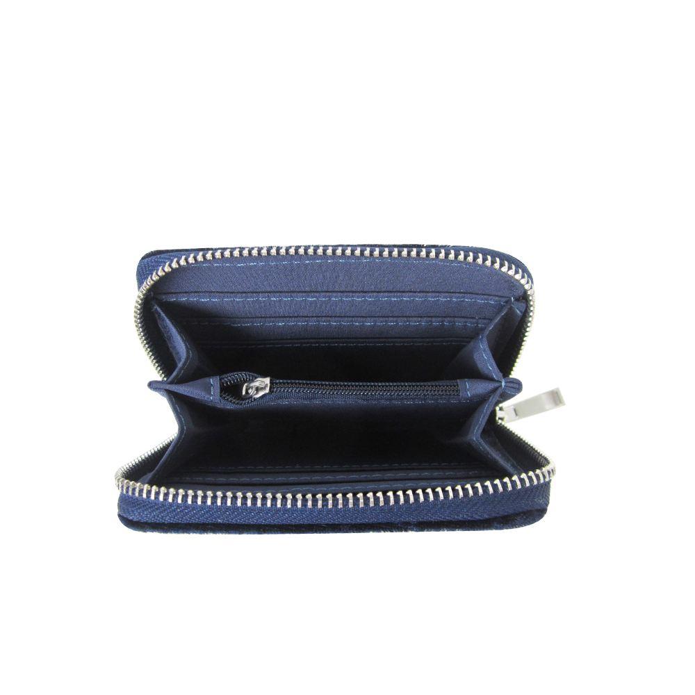 Women-039-s-Designer-Style-Velvet-Small-Zip-Purse-Zip-Close-Wallet-Girls-Purse thumbnail 14