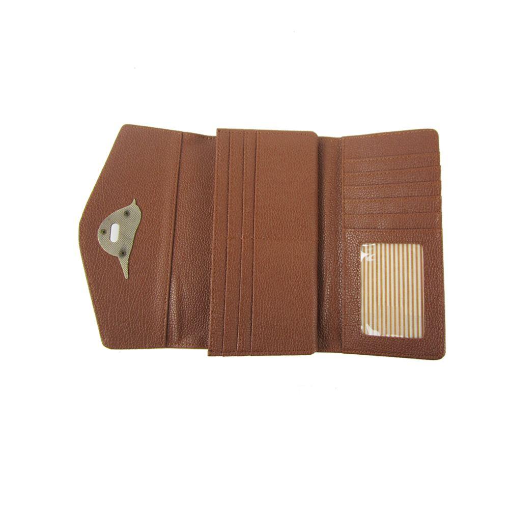 Womens-Designer-Style-Purse-Clasp-Close-Wallet-Girls-PU-Coin-Holder-Bird-Design thumbnail 13