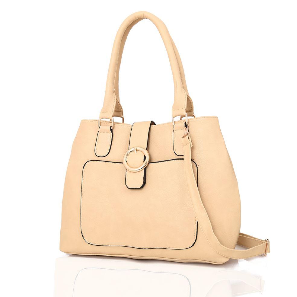 Womens-Designer-Style-Tote-Hand-Bag-Ladies-Handbag-PU-Leather-Shoulder-Bag