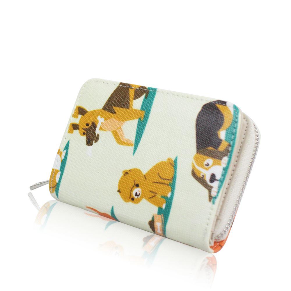 New-Womens-ShortPurse-Girls-Dog-Print-Wallet-Ladies-Oilcloth-Coin-Purse thumbnail 3