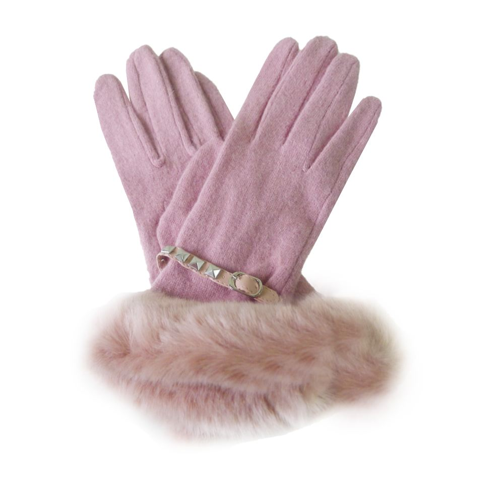c183cef8e51 New Womens Designer Style Wool Gloves Ladies Winter Gloves Free UK Delivery