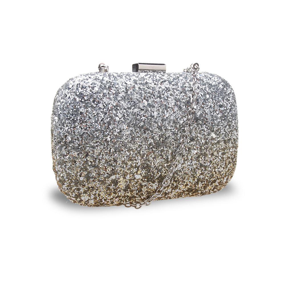 New-Womens-Glitter-Hard-Case-Clutch-Bag-Girls-Glitter-Bag-Women-039-s-Evening-Bag thumbnail 6