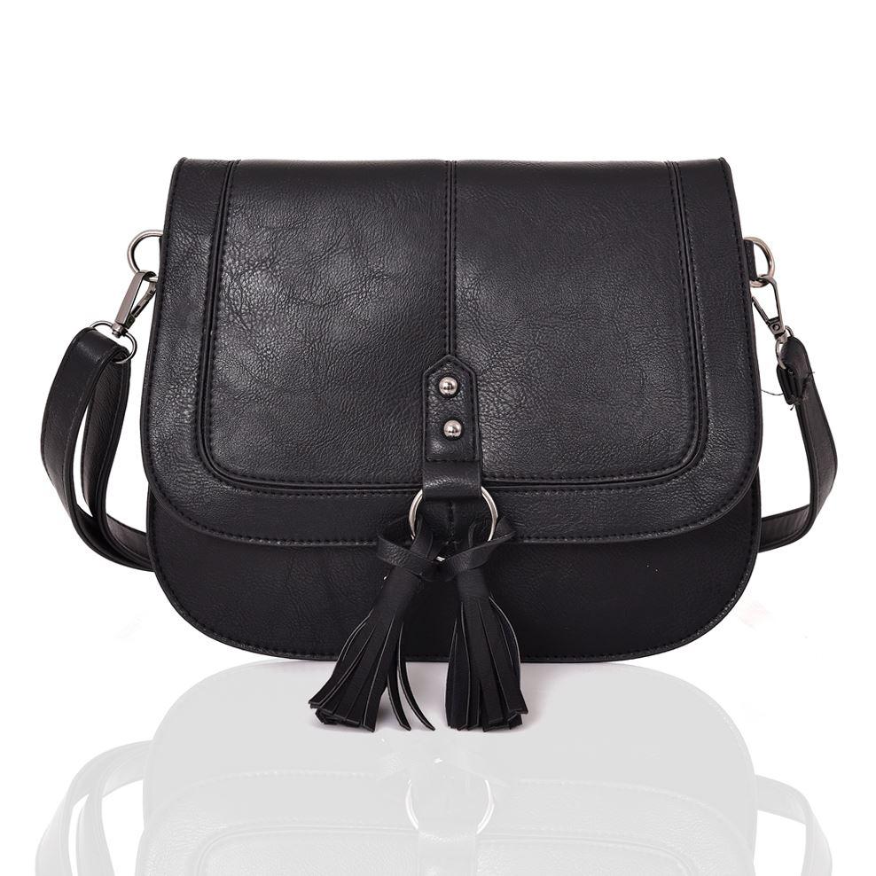 Womens-Designer-Style-Cross-Body-Bag-Ladies-Handbag-PU-Leather-Shoulder-Bag thumbnail 5