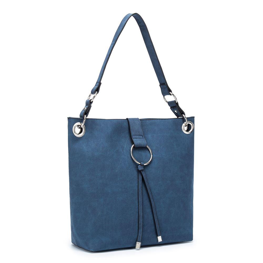 Women-039-s-Tote-Tassel-Ring-Handbag-Shoulder-Simple-Everyday-Bag thumbnail 6