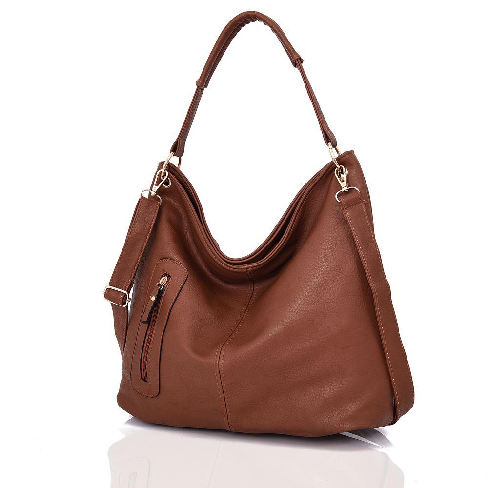 Womens-Large-Designer-Style-Tote-Bag-New-Shoulder-Handbag-Cross-Body-Shopper-Bag miniatuur 13