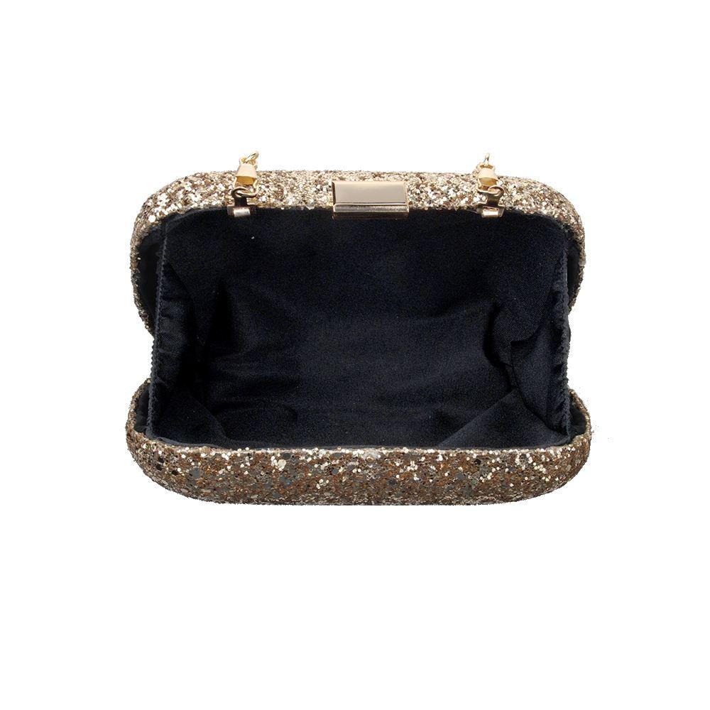 New-Womens-Glitter-Hard-Case-Clutch-Bag-Girls-Glitter-Bag-Women-039-s-Evening-Bag thumbnail 4
