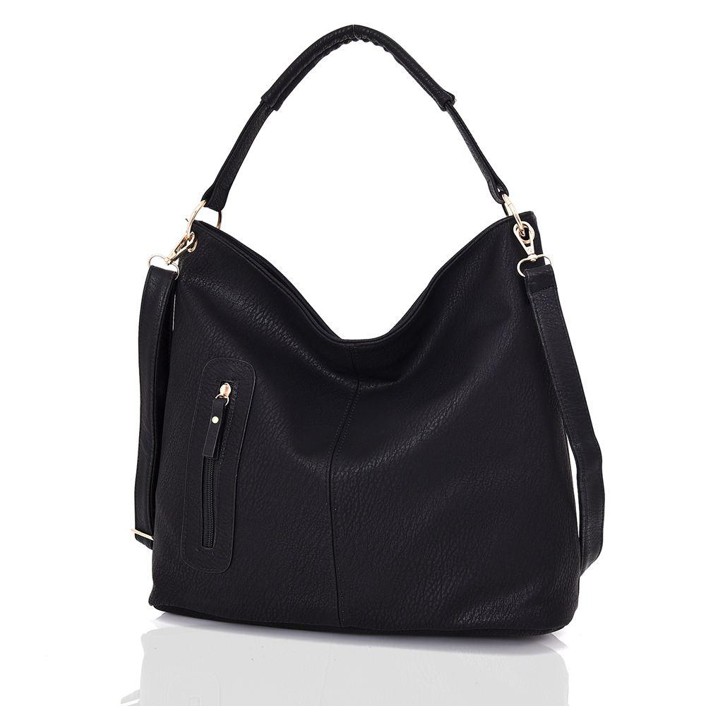 Womens-Large-Designer-Style-Tote-Bag-New-Shoulder-Handbag-Cross-Body-Shopper-Bag miniatuur 6
