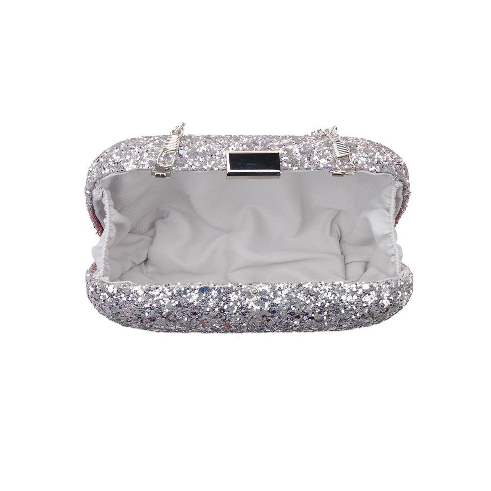 New-Womens-Glitter-Hard-Case-Clutch-Bag-Girls-Glitter-Bag-Women-039-s-Evening-Bag thumbnail 10