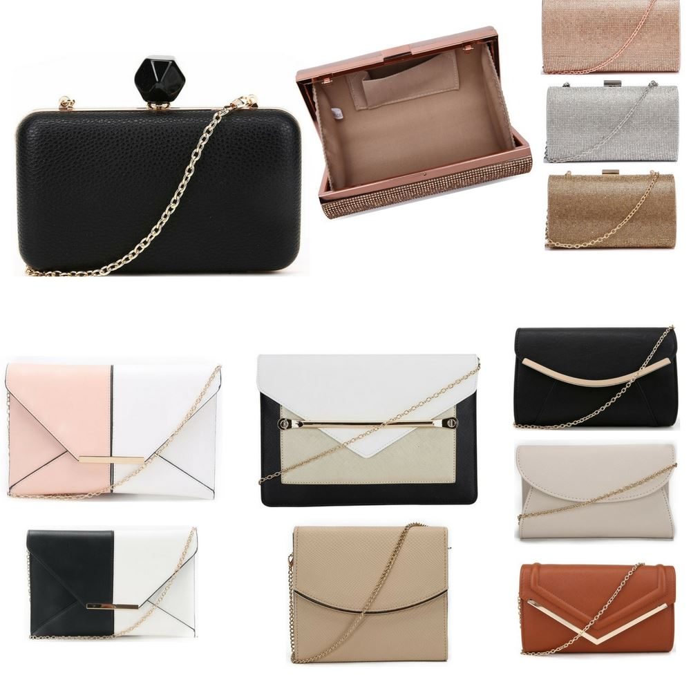 9ffb6e6017e5 Womens Evening Bag Wide Selection Of Ladies Clutch Bags Girls Shoulder  Strap Bag