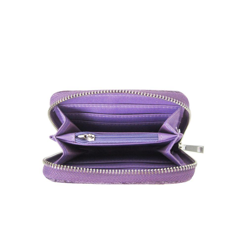 Women-039-s-Designer-Style-Velvet-Small-Zip-Purse-Zip-Close-Wallet-Girls-Purse thumbnail 17