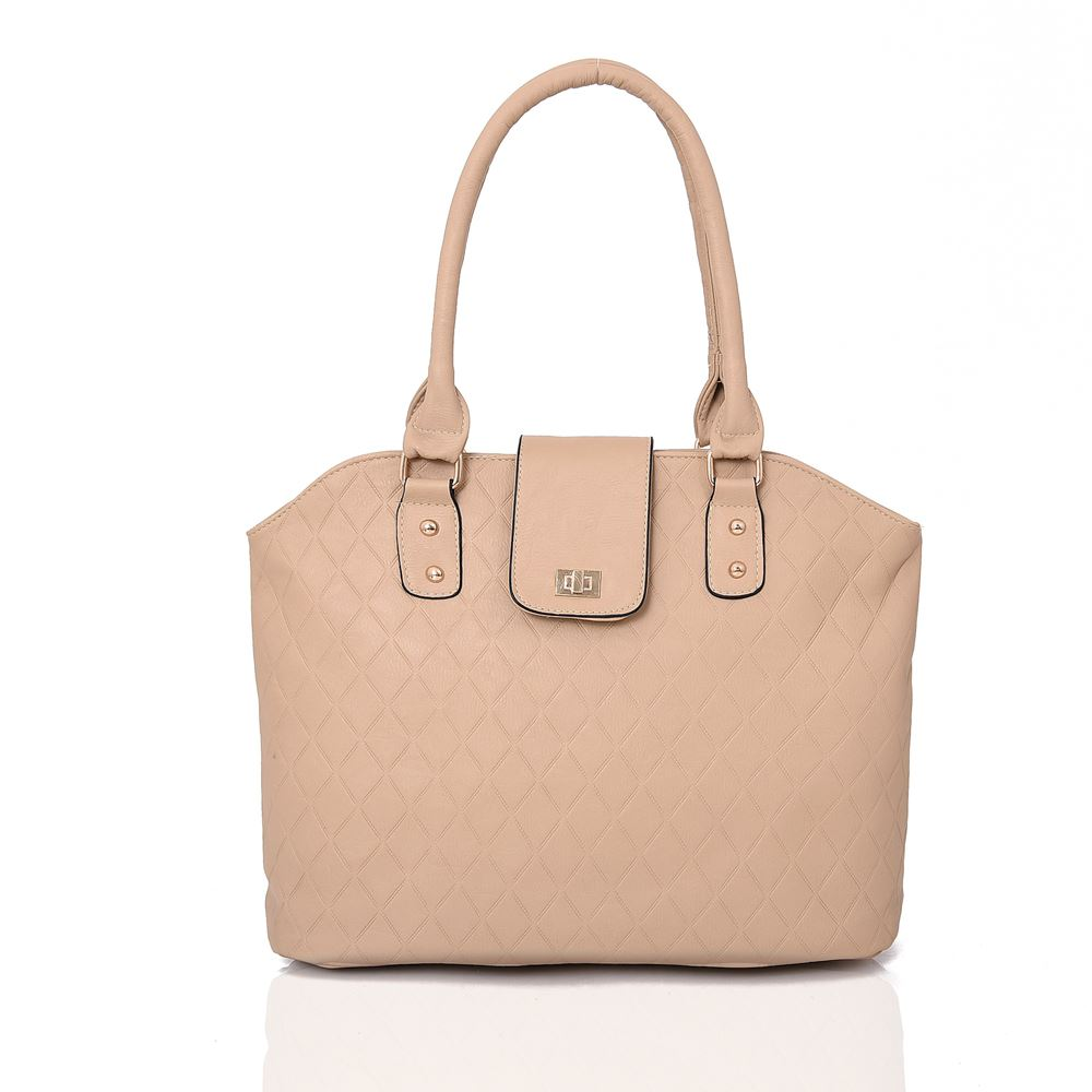 Womens Trendy Tote SHOPPER Bag Strap Faux Leather Shoulder Handbag Quilted  Beige. About this product. Picture 1 of 2  Picture 2 of 2 99e8b30294ca0