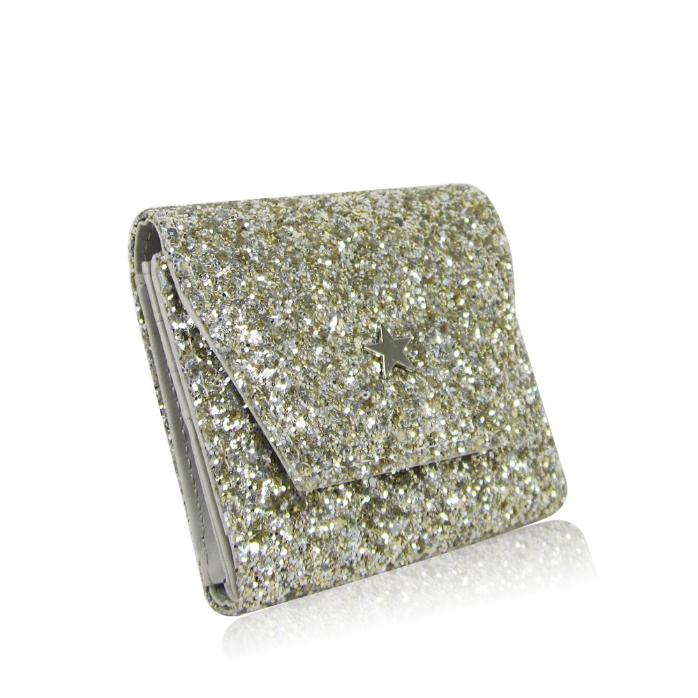 New-Women-039-s-Glitter-Purse-Girls-Designer-Style-Wallet-Card-Holder-Coin-Purse thumbnail 9