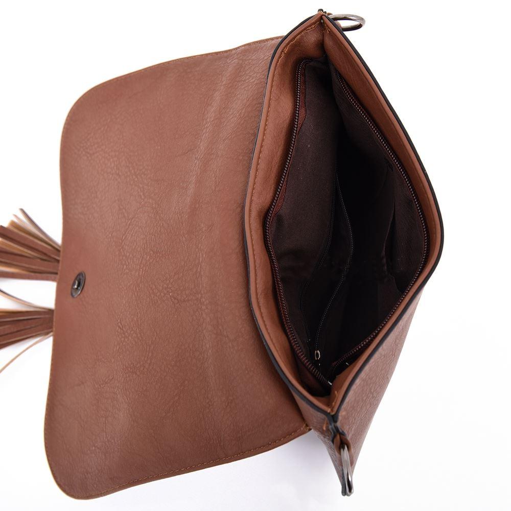 Womens-Designer-Style-Cross-Body-Bag-Ladies-Handbag-PU-Leather-Shoulder-Bag thumbnail 16