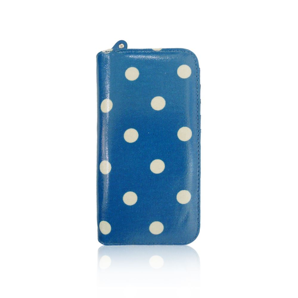 New-Womens-Long-Purse-Girls-Polka-Dot-Print-Wallet-Ladies-Oilcloth-Coin-Purse thumbnail 6