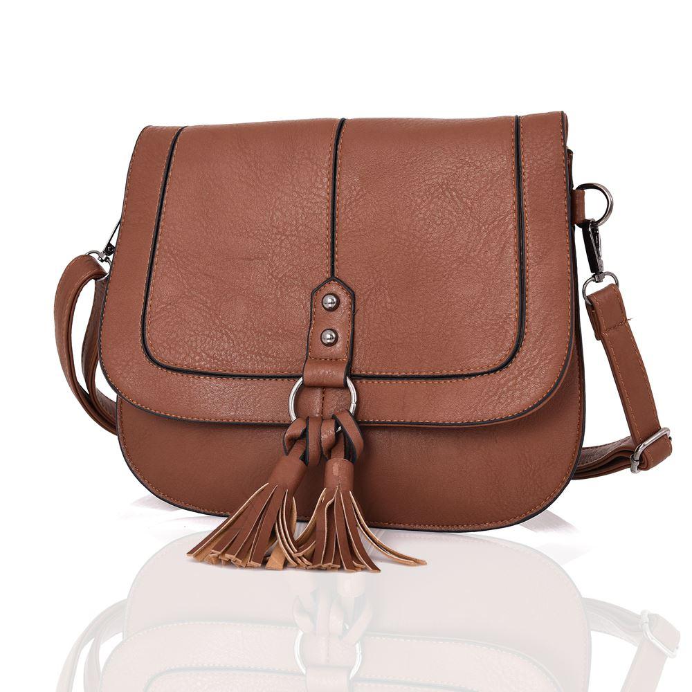 Womens-Designer-Style-Cross-Body-Bag-Ladies-Handbag-PU-Leather-Shoulder-Bag thumbnail 15