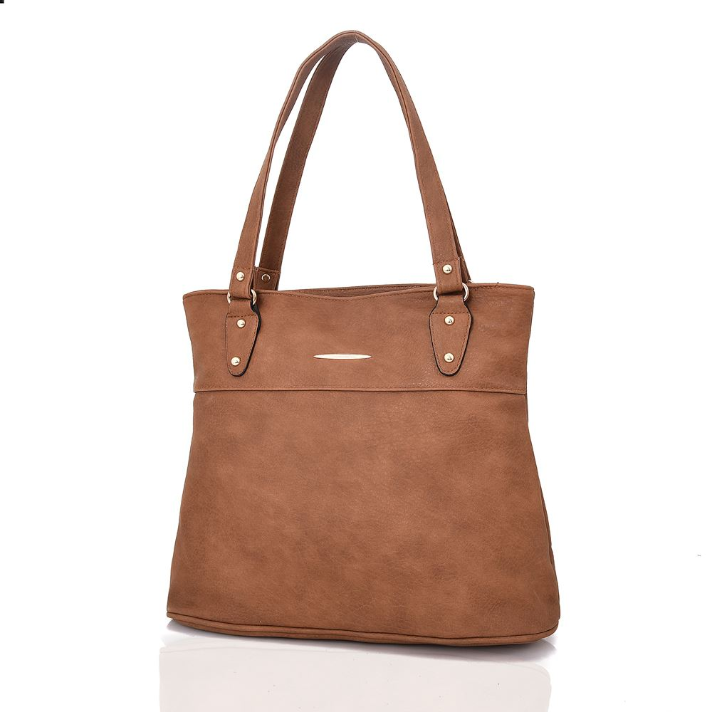 Women-039-s-Large-Designer-Style-PU-Leather-Shopper-Ladies-HandBag thumbnail 12