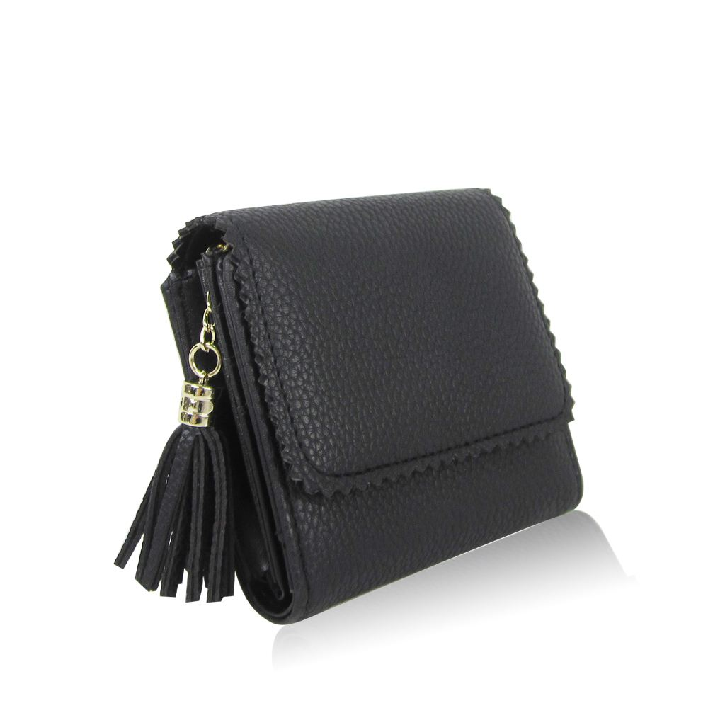 New Womens Small Tassel Purse Girls Designer Style Wallet Card ...