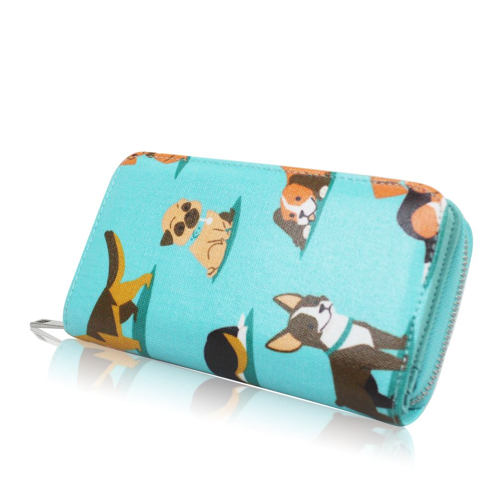 New-Womens-Long-Purse-Girls-Dog-Print-Wallet-Ladies-Oilcloth-Coin-Purse thumbnail 9