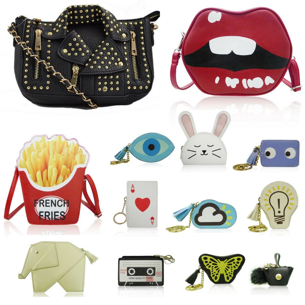Women's Novelty Handbags Quirky Girls French