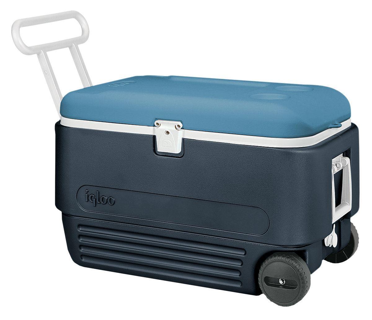 Igloo Maxcold 60 Quart 57l Wheeled Cool Box Ice Chest