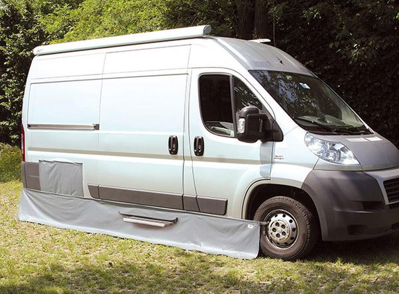 Fiamma Draught Rain Skirt For Fiat Ducato Motorhome Campervan Side Skirting Ebay